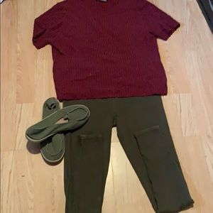 Omgosh a complete outfit for 1 price!!!